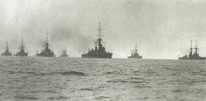 British Navy in 1913