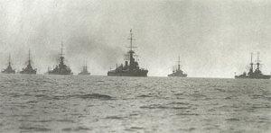 British Navy in 1913