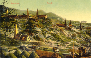 Bustenari, Romania in the early 1900s.