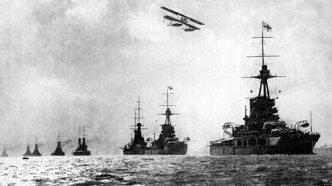 Britain's fleet which protected the nation also depended on oil, as did modern developments like aircraft.