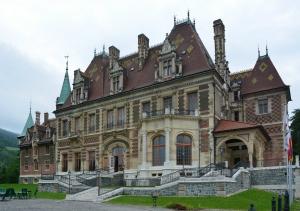 Rothschild Schloss Hinterließen in Austria- Hungary.