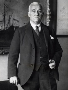 Sir Henri Deterring, Chairman of Royal Dutch/ Shell in his later years.