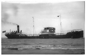Typical oil tanker built pre-1914.