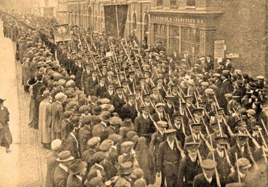 Irish Volunteers, 1914