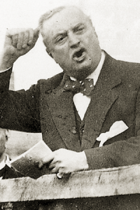 John Redmond leader of the Home Rule Party