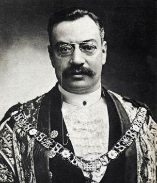 Sir Marcus Samuel Lord Mayor of London and Chairman of Shell