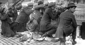Street-fighting in Dublin, Easter 1916