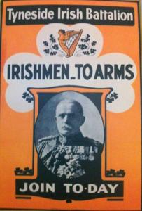 Tyneside Irish 'Pals' Battalion Poster
