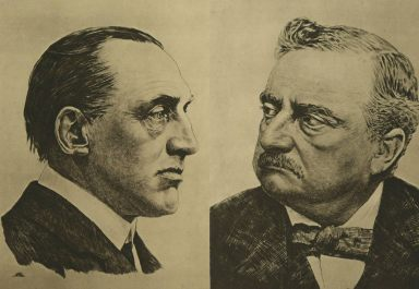 Carson and Redmond 1915. While Carson accepted High Office, Redmond refused a minor British appointment.