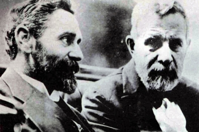 Roger Casement with John Devoy of Clan Na Gael in America.