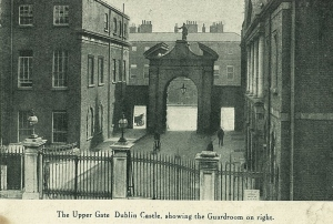 Dublin Castle entrance