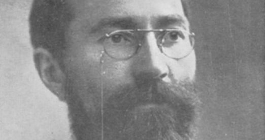 Francis Sheehy-Skeffington, murdered by the psychotic Captain Colthrust because he might have been a rebel.