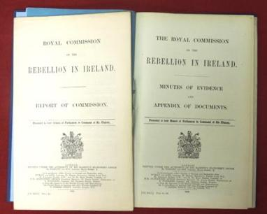 Royal Commission on the Rebellion in Ireland, better known as the Easter Rising