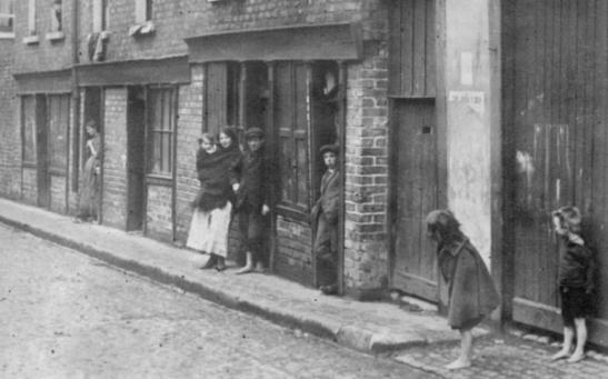 Dublin slums circa 1912