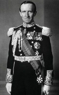 John Buchan in his uniform as Governor-General of Canada