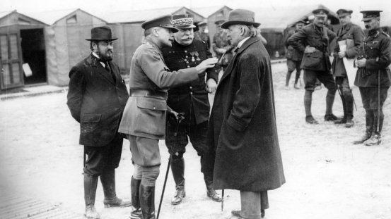 Lloyd George (right) both as minister for war and prime minister, became much more 'hands on' and interventionist that his political predecessors.