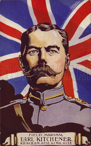 This was the image of Kitchener which stirred public confidence in a long war.