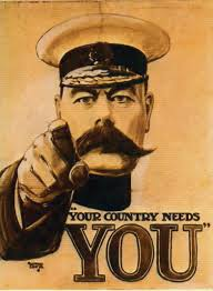 The iconic Kitchener recruitment poster.
