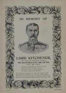 Kitchener's death was followed by a plethora of false praise from duplicitous men.