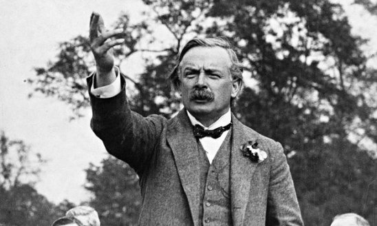 Lloyd George in 1915. A man favoured by the Secret Elite.