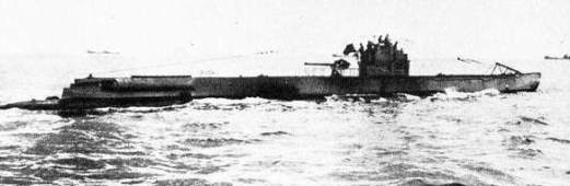 Mine-laying U-Boat 75, sunk in 1917.