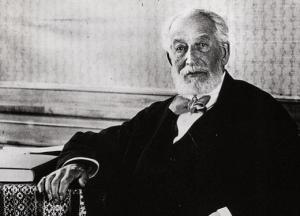 Baron Edmund de Rothschild, head of the French Rothschild family.