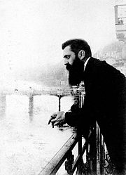 Theodore Herzl, first Chairman of the Zionist World Council