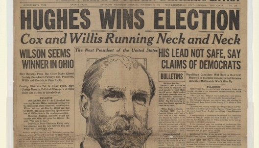 Hughes 1916 victory