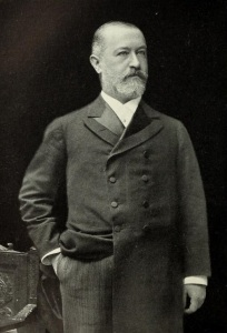 Jacob Schiff in his earlier years.