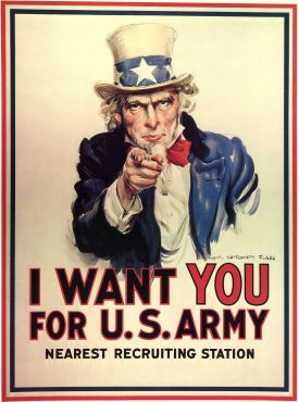 American Recruitment Poster 1917