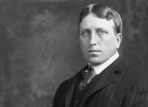 William Randolph Hearst, newspaper proprietor, was strongly anti-Allied in his policies