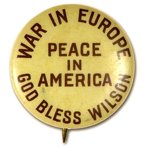 Wilson peace button