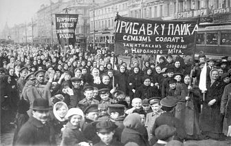 Woman's Day Protests February 1917.