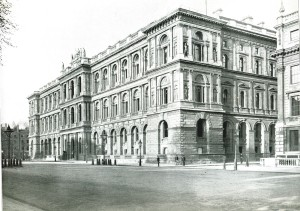 The imposing 19th Century Foreign Office in Whitehall, London.