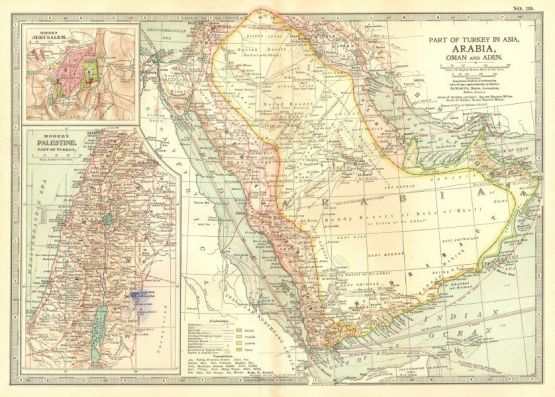 Antique Map of Arabia