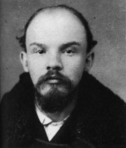 Lenin in his younger years.