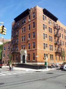 Trotsky's apartment at 1522 Vyse Avenue in the Bronx.