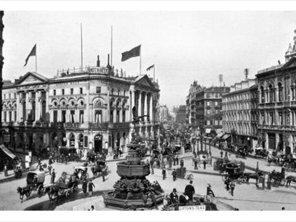 Empire House, 175 Piccadilly, home to Milner's Round Table Magazine and the British Zionist Federation.