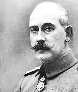 Chancellor Max von Baden, 1918.