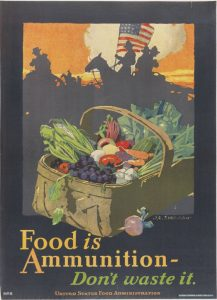 Hoover took charge of the US Food Administration, but it was not destined for Germany.