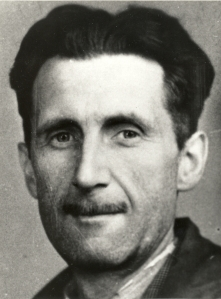 George Orwell, press photograph.